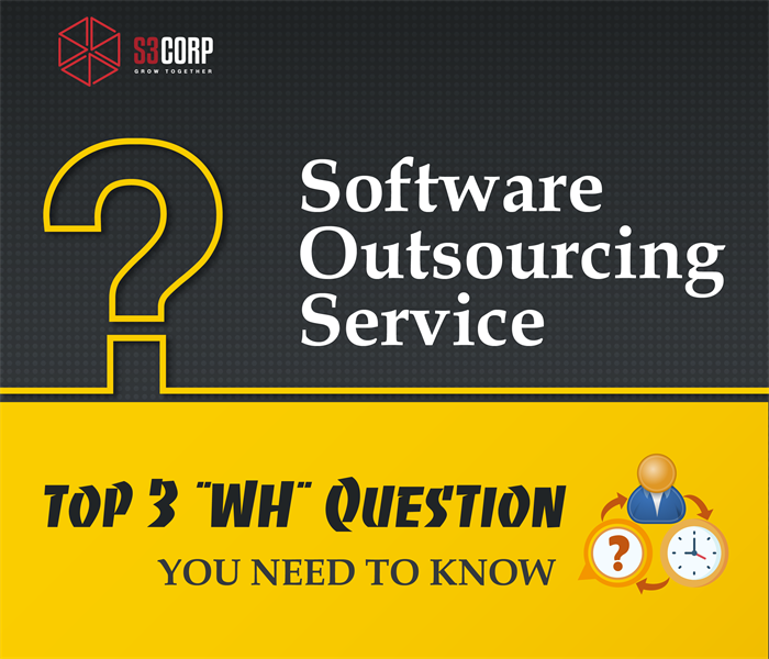 "SOFTWARE OUTSOURCING SERVICE: TOP 3 ""WH"" QUESTION YOU NEED TO KNOW"
